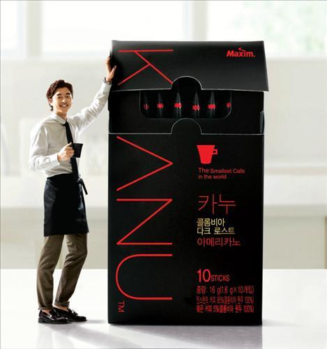 韓國 DongSuh Maxim KANU 哥倫比亞 黑咖啡(美式-無糖) 16g(1.6g×10包)