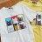 T恤 情侶裝 客製化 MIT台灣製純棉短T 班服◆快速出貨◆獨家配對情侶裝.六格貓【YC604】可單買.艾咪E舖 0