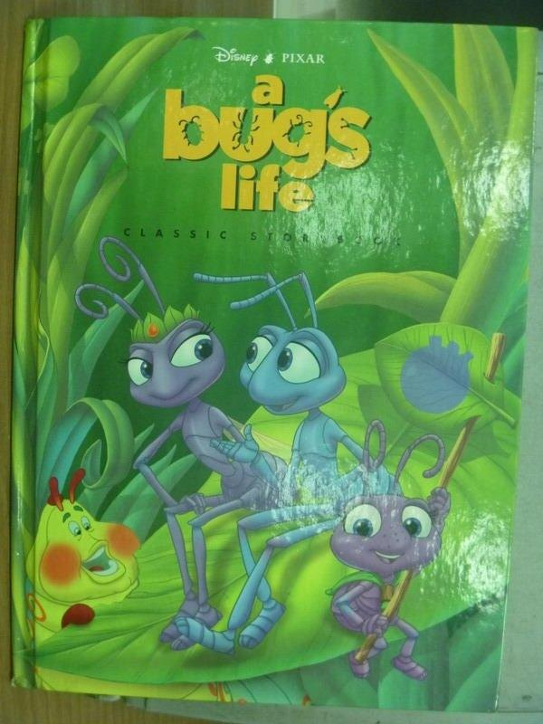 【書寶二手書T4/兒童文學_QBL】a bug's life