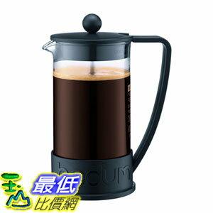 [107美國直購] 咖啡機 Bodum BRAZIL Coffee Maker,34 Ounce (8 Cup) French Press Coffee Maker, Black