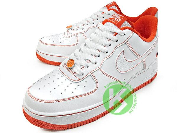 2020 經典復刻鞋款 NIKE AIR FORCE 1 07 LV8 EMB RUCKER PARK 白橘 洛克公園 籃球 AF1 (CT2585-100) 0820 1