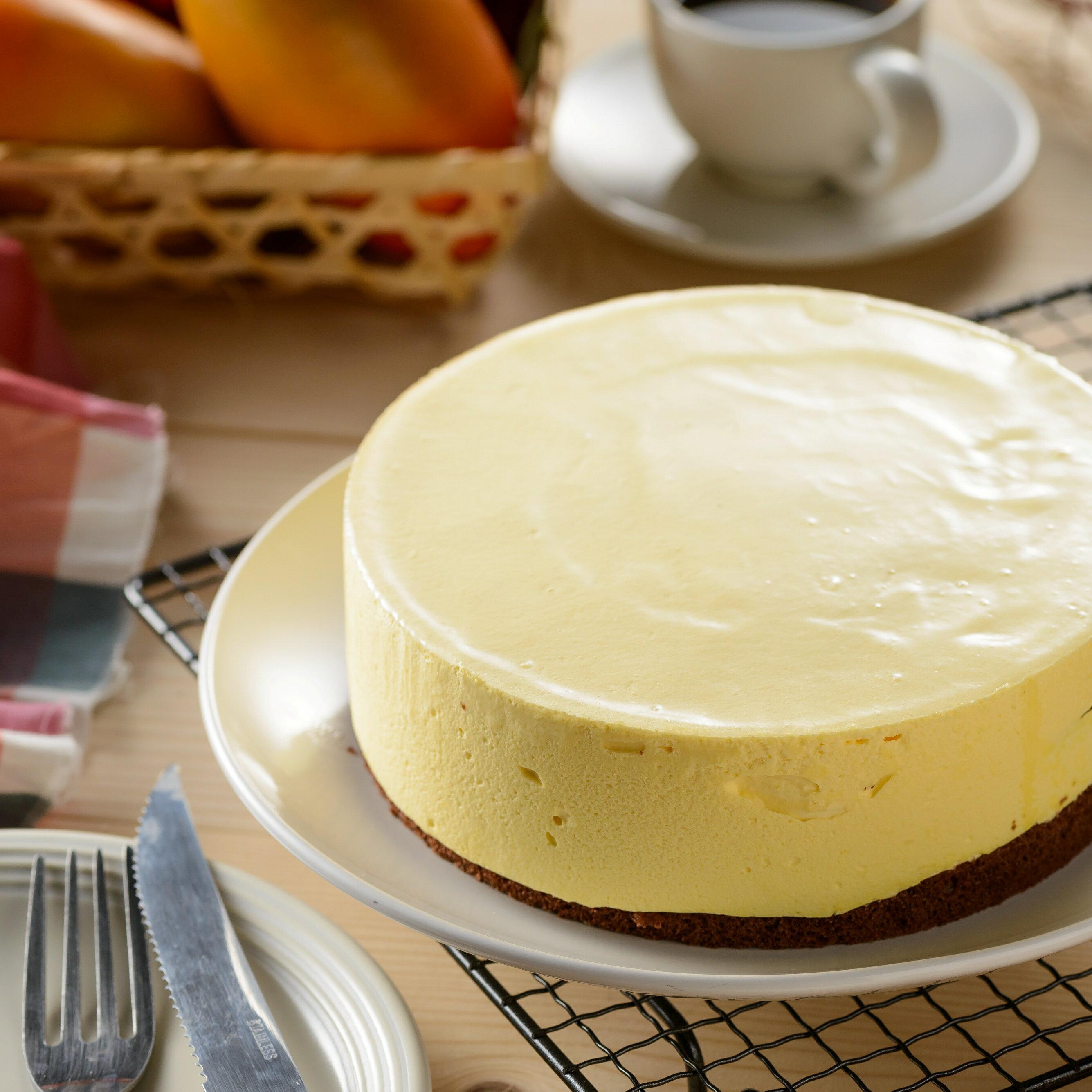 【DONT-CHA 手作】芒果慕斯 6吋 ❤夏日限定❤ Mousse丨果泥慕斯丨黑巧克力蛋糕丨母親節蛋糕丨生日蛋糕丨父親節蛋糕丨甜點丨雙重口感丨愛文芒果 ❤滿499免運❤