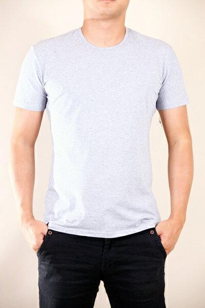 全尺碼 L-7L 高品質 涼感 超彈力 百搭 素面 圓領 V領 短袖T恤 801【CS衣舖 】 4