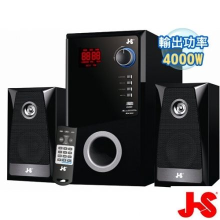 <br/><br/>  【JS 】水瓶座 2.1聲道全木質 藍芽+FM喇叭(JY3302)<br/><br/>