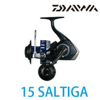 漁拓釣具 DAIWA 15 SALTIGA 5000  紡車捲線器 (大物用)