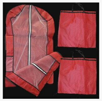 天使嫁衣【PL150】5色婚紗禮服旗袍專用優質手提兩用防塵袋1.5米˙預購訂製款