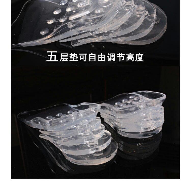 韓國內增高鞋墊矽膠軟墊男女 增高墊^(一組5雙^)