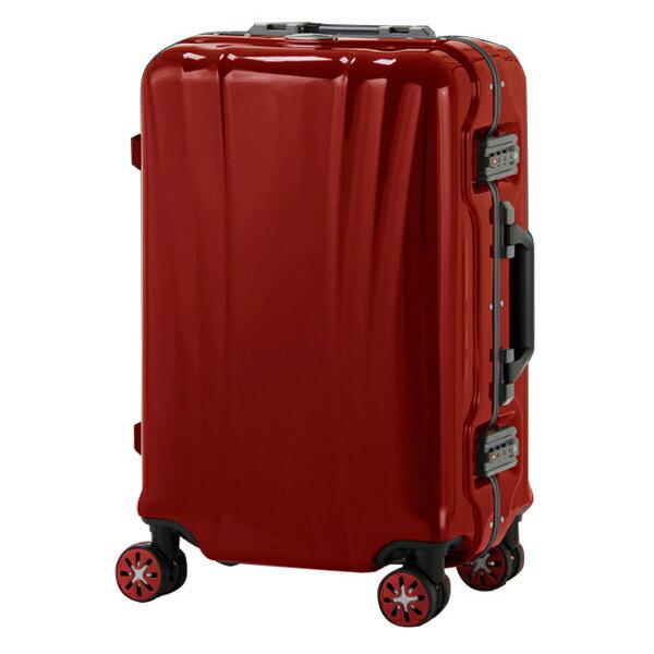 日本 LEGEND WALKER 5101-50-20吋 鋁框輕量登機箱 胭脂紅
