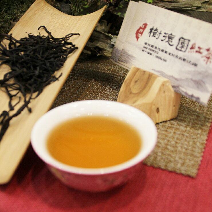 樹德園紅茶台茶18號紅玉紅茶自然農法栽種 手採功夫紅茶 日月潭紅茶50公克