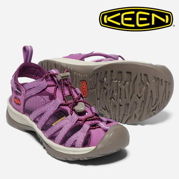 【Keen美國】WHISPER越野護趾涼鞋運動涼鞋休閒涼鞋女款/1018229