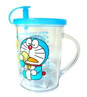 小叮噹週邊商品推薦哆啦A夢 DE027 單耳吸杯 塑膠水杯 盥洗杯子 漱口杯 水杯 口杯 台灣製造 臺灣製造