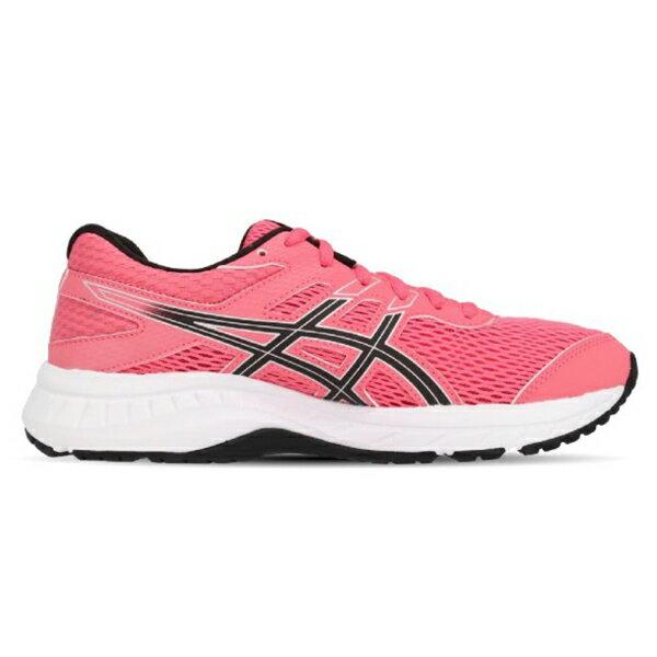 ASICS【1012A570-701】亞瑟士 GEL CONTEND 6 慢跑鞋 桃粉黑 女生尺寸