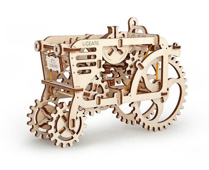 Ugears 自我推進模型 (Tractor 拖拉機) 2