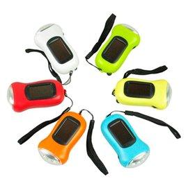 【【蘋果戶外】】太陽能『手搖式』手電筒 3LED 超亮 輕巧好攜帶 登山露營旅遊 地震 天災 緊急避難