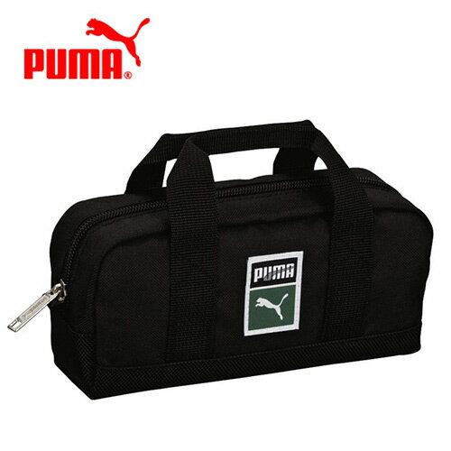 黑色款【日本正版】PUMA 多功能 收納包 化妝包 鉛筆盒 筆袋 手提設計 - 079450