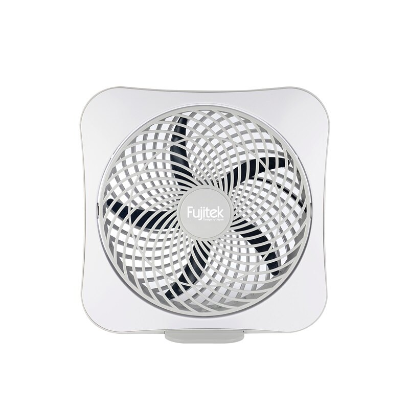 (福利品)【富士電通】10吋DC扇/風扇/電扇-灰白FT-LEF101 保固免運