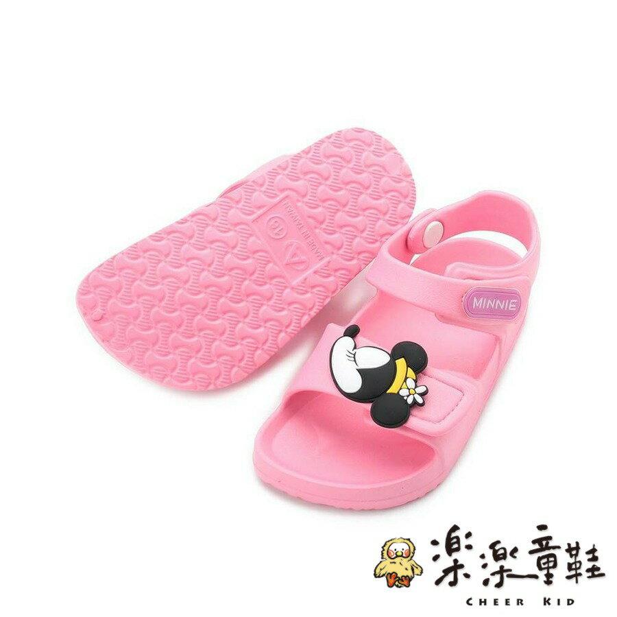 【樂樂童鞋】【台灣製現貨】迪士尼米奇米妮防水涼鞋