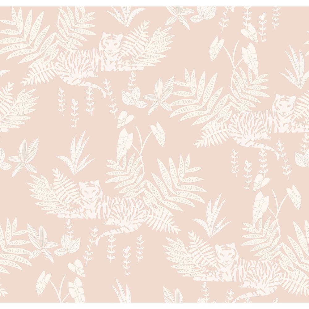 法國壁紙  動物紋 綠色植物紋 兒童房壁紙 2色可選 Season Paper 壁紙 3