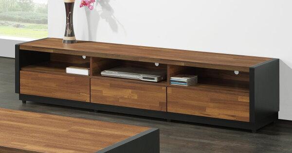 尚品傢俱:【尚品傢俱】JF-220-2柏格6尺集層木雙色長櫃