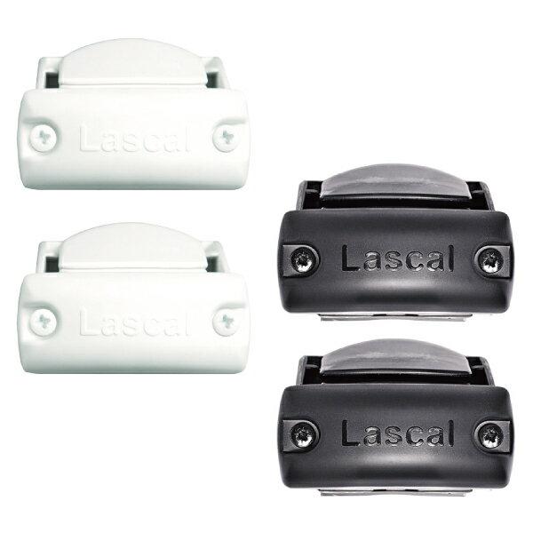 瑞典 Lascal KiddyGuard 安全門欄配件-門欄側欄杆安裝套件(黑/白)