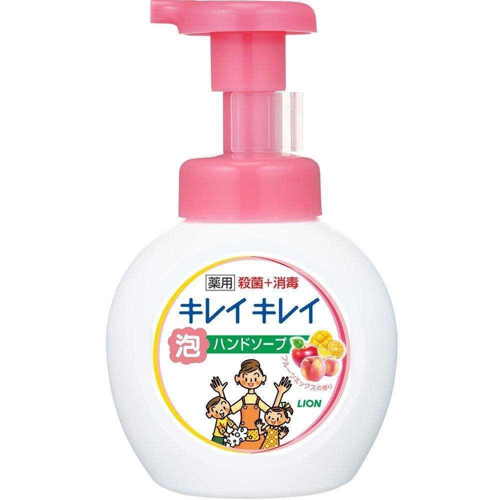 日本製綺麗泡沫洗手乳 250ml (豐盈果香)