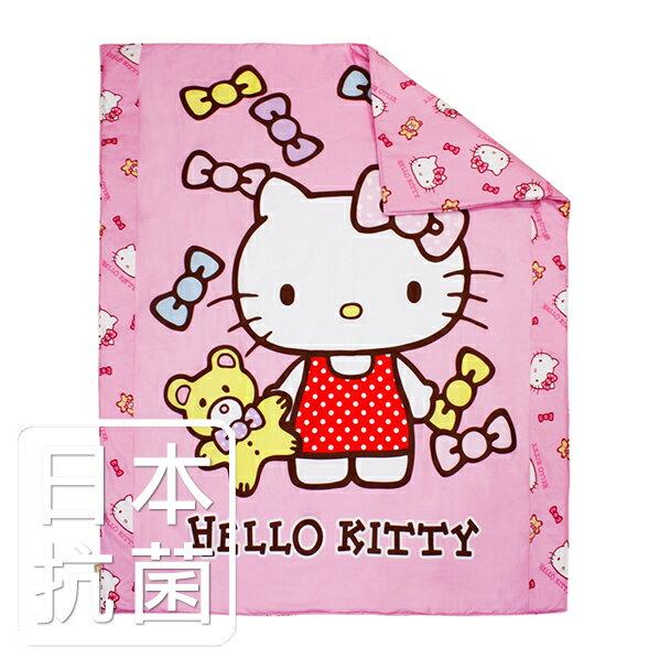 ~鴻宇HONGYEW~HELLO KITTY兒童涼被 美國棉 精梳棉 製 抗菌寢具 絲毯涼