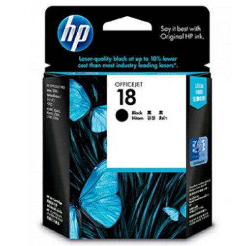 【HP 墨水匣】  C4936A NO.18 黑色原廠墨水匣