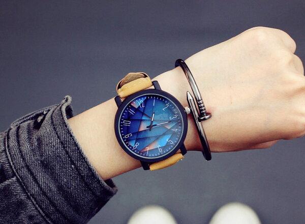 【快速發貨x現貨免等】韓版時尚防水石英錶男錶女錶PU錶帶對錶【WHAA0002】