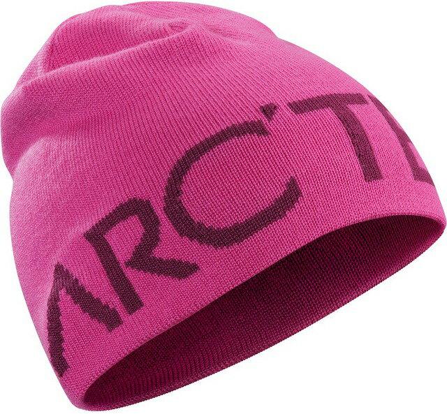 Arcteryx 始祖鳥 保暖帽/毛帽/滑雪/登山/旅遊/背包客 Word Head 雙面保暖帽 15221 粉紅