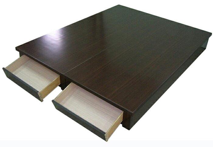 【尚品傢】624-05 胡桃5尺抽屜床底箱~另有3.5、6尺,四色可選