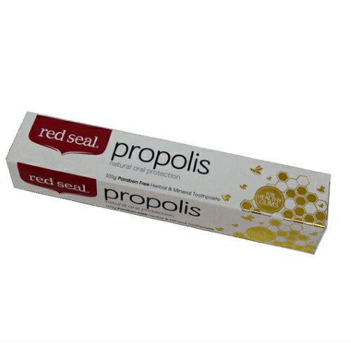 【小資屋】RedSeal紐西蘭原裝百年天然護齦蜂膠牙膏100g效期:2020.10