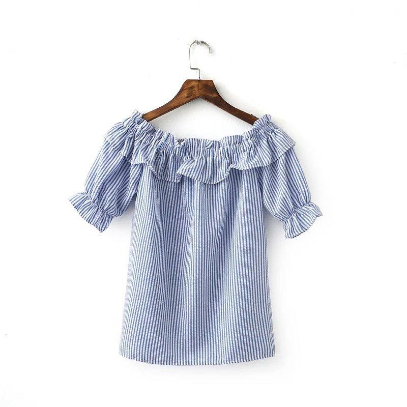 LINAGI里奈子 ~ZH302~31~23~韓KOREA 氣質甜美羅紋 一字領裸肩風格短