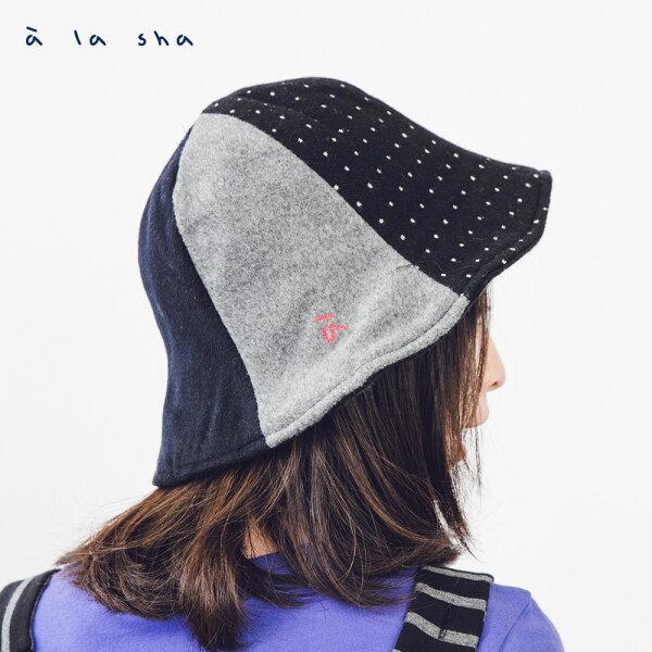 àlasha拼接漁夫帽