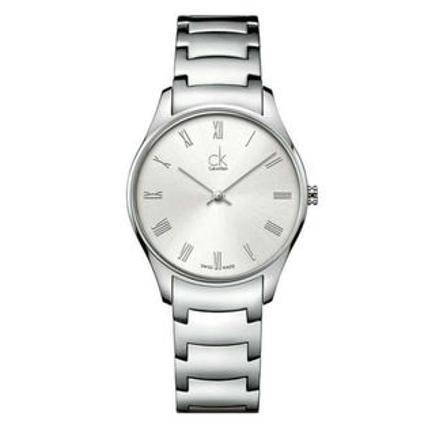 CK經典系列(K4D2214Z)簡約風潮時尚腕錶白面32mm