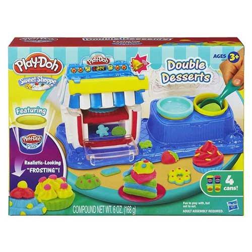 ~衛立兒 館~Play~Doh 培樂多 雙重甜點遊戲組