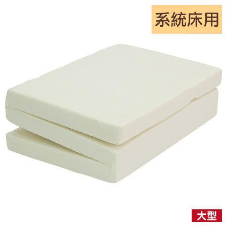 ★系統床用床墊可折疊式高彈力棉床墊NITORI宜得利家居