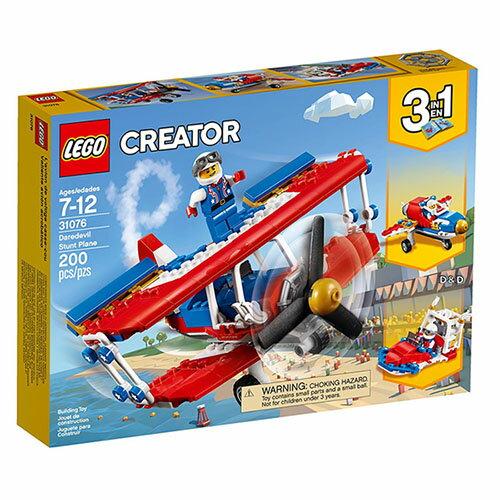 樂高積木LEGO《LT31076》2018年Creator創意百變系列-瘋狂特技飛車