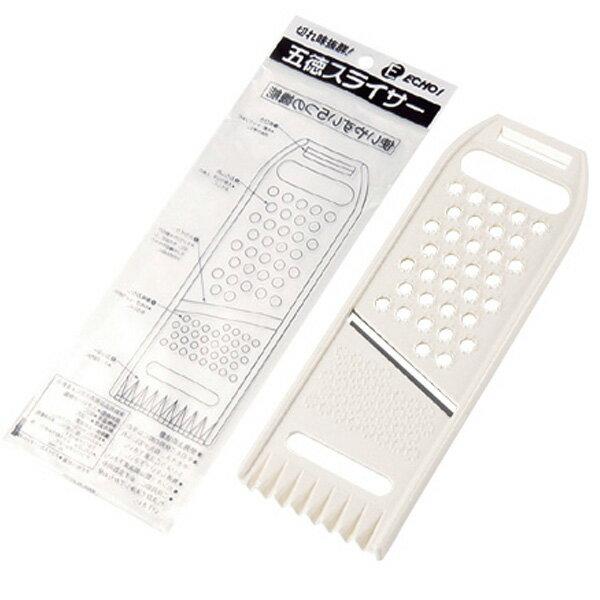 BO雜貨【SV8118】日本製 五德切片調理器具 削皮器 切絲 切片刨絲器