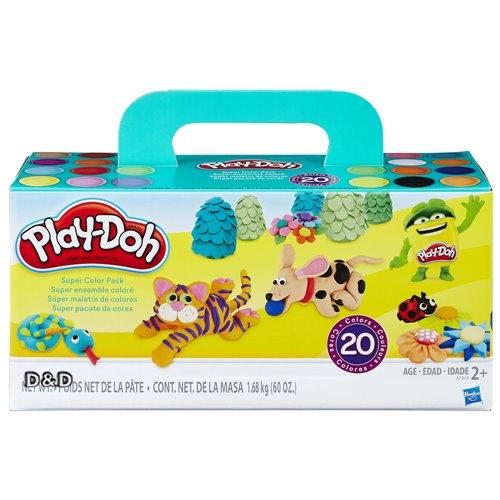 《Play-Doh培樂多》繽紛20色黏土組