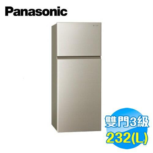 國際 Panasonic 232公升 雙門電冰箱 NR-B239T-R