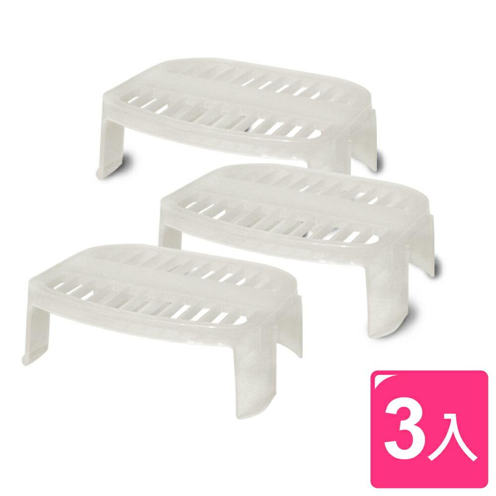 WallyFun 餐盤整理收納架 x3入 (餐盤架/杯架/調味瓶架)
