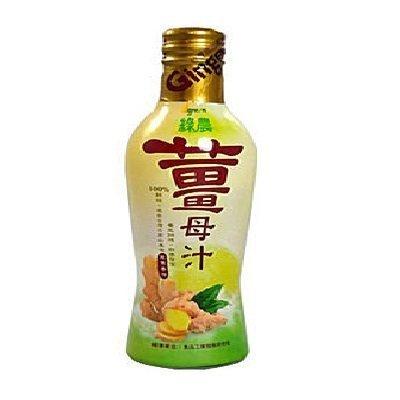 綠農 薑母汁300ml/瓶 12瓶入
