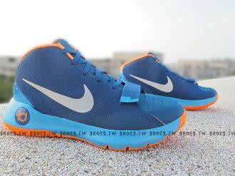 [26.5cm] Shoestw【749378-404】NIKE KD TREY 5 III EP 藍橘 杜蘭特 KD 籃球鞋