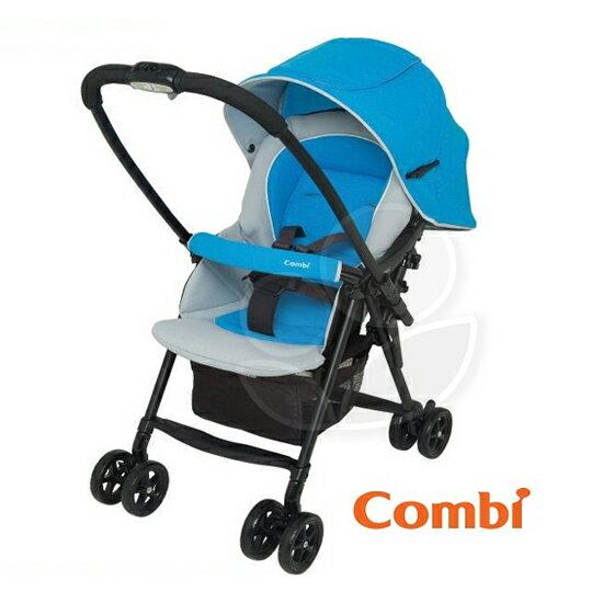 【狂降出清】Combi康貝WellComfortWT-250Z-藍色推車【悅兒園婦幼生活館】