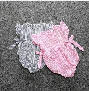 短袖包屁衣嬰兒兔裝短袖哈衣寶寶連身衣童裝SK056好娃娃