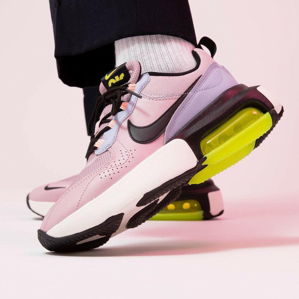 【日本海外代購】Nike Air Max Verona 粉紫 桃紅 黑粉 淺綠 少女 厚底 增高 氣墊 鄧紫棋 女 CI9842-500