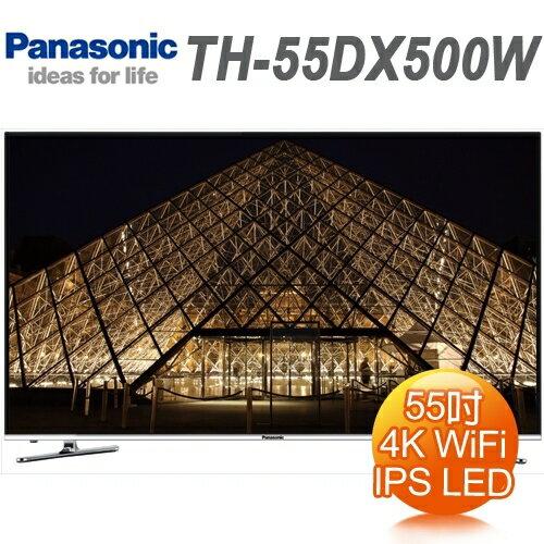★杰米家電☆Panasonic國際牌 55型 4K LED聯網顯示器 TH-55DX500W