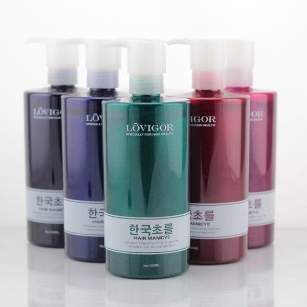 韓國LOVIGOR護髮染●(多色可選大容量450ml)染色護髮染髮乳
