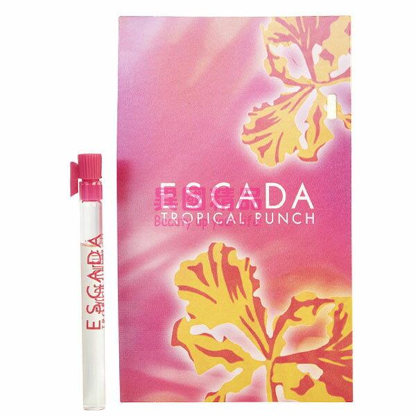 異國精品:EscadaTropicalPunch女性針管香水1.2mlEDTSAMPLEVIAL【特價】§異國精品§