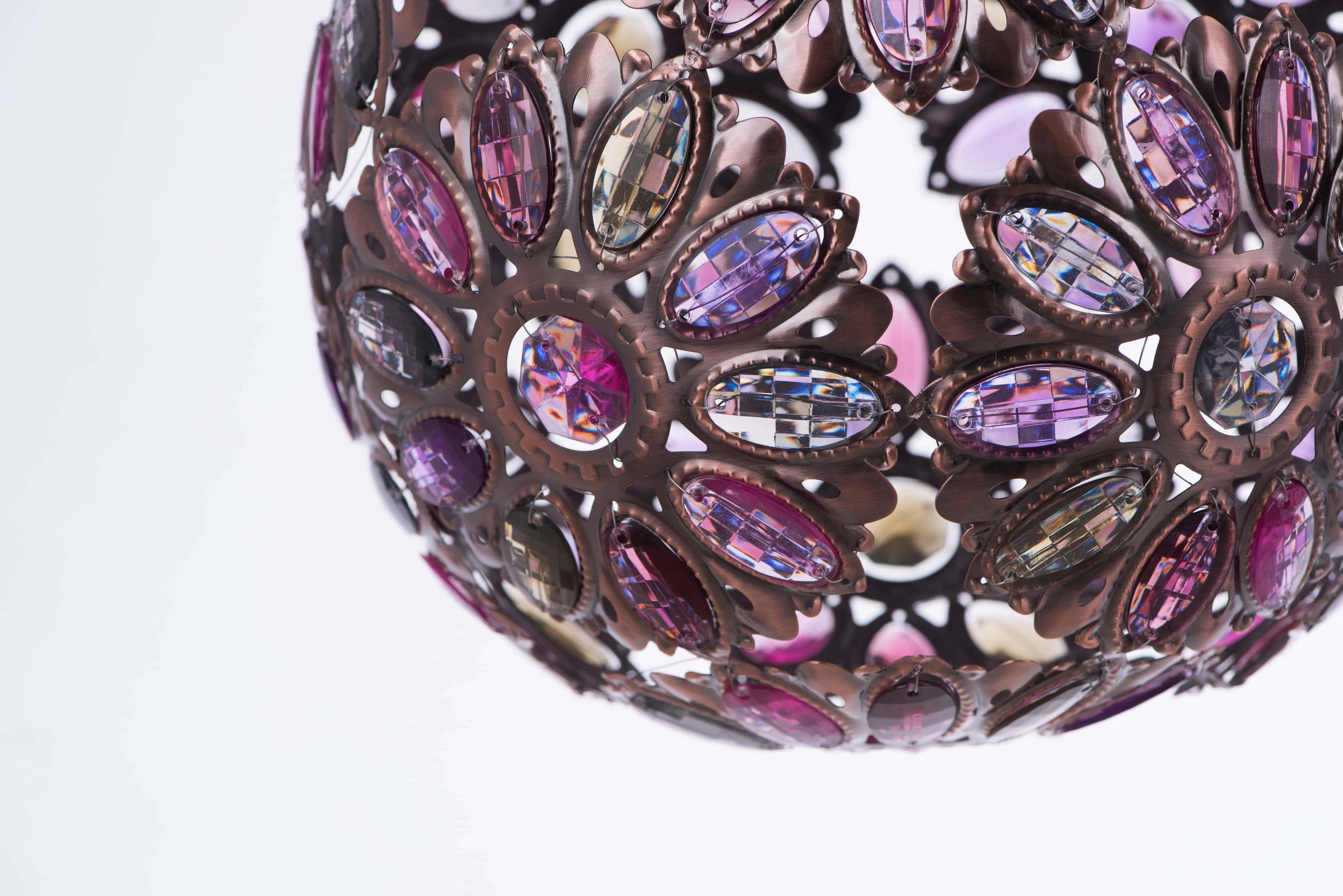 紅銅波斯蘭菊吊燈-BNL00087 3